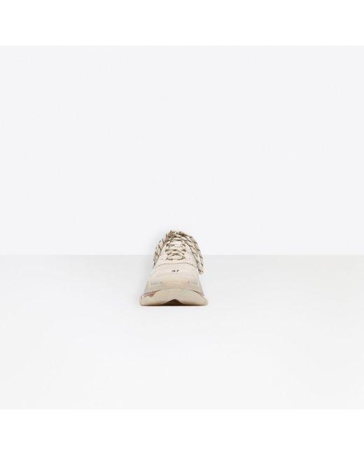 Sneaker Triple S Clear Sole Balenciaga en coloris Multicolor