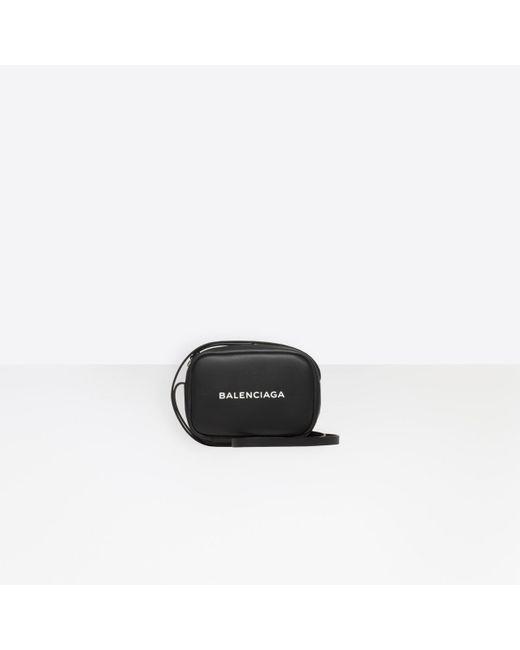 Balenciaga - Black Everyday Camera Bag Xs - Lyst