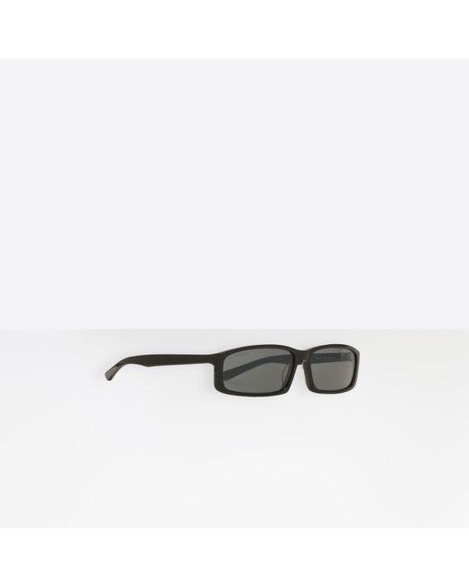 Balenciaga - Black Gafas de sol Neo Square for Men - Lyst