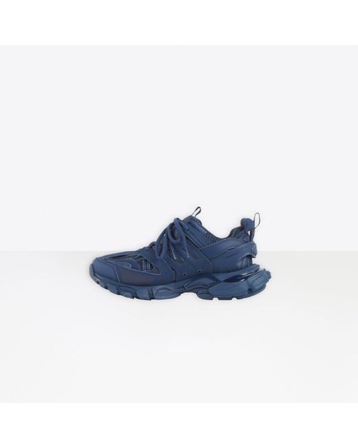 Sneaker Triple S Clear Sole Balenciaga en coloris Blue