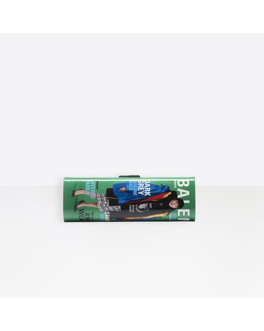 Balenciaga Multicolor Hard Mag Clutch