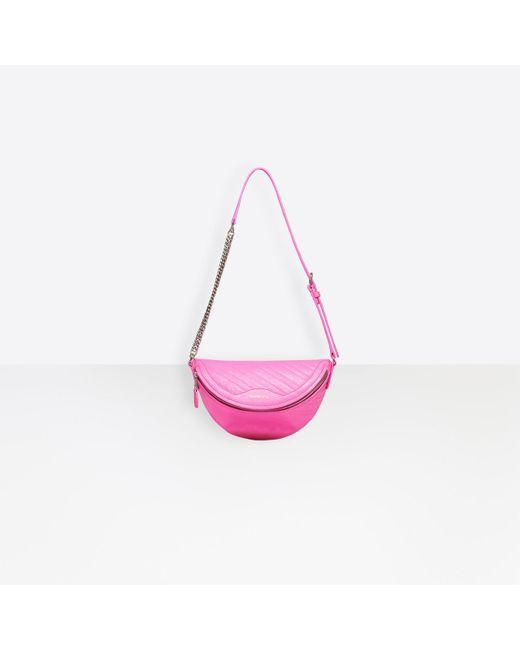 Balenciaga Pink Souvenirs Xxs Belt Bag