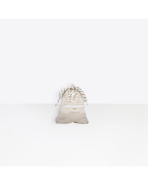 Balenciaga Triple S Clear Sole Leather
