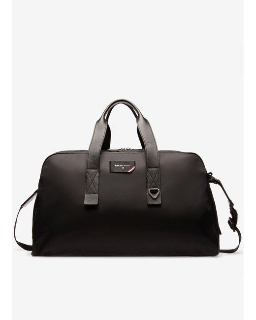 Bally Black Men's Flynn Weekender Duffel Bag for men