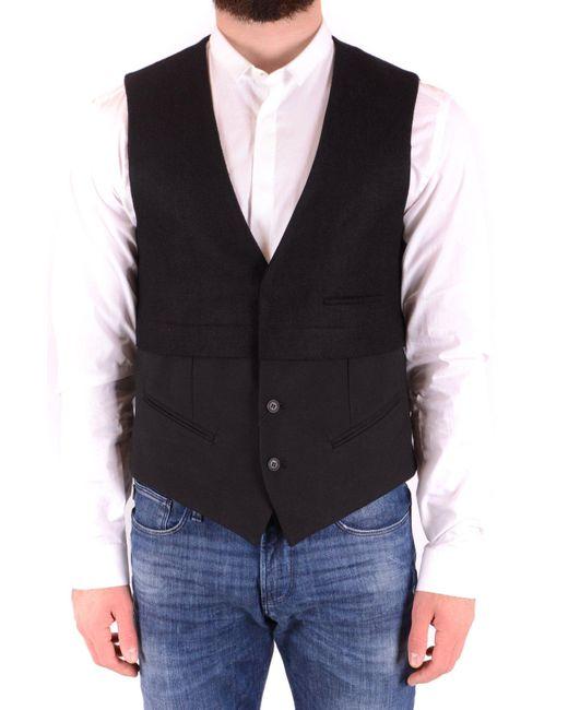 Antony Morato Black Vest for men