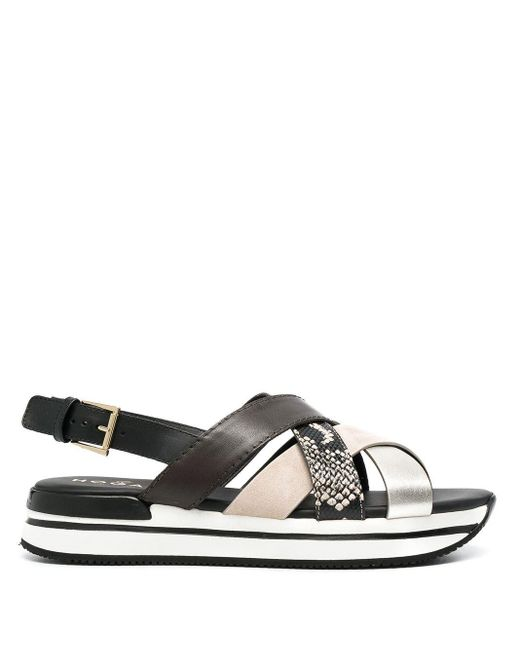 Hogan Sandals Blue