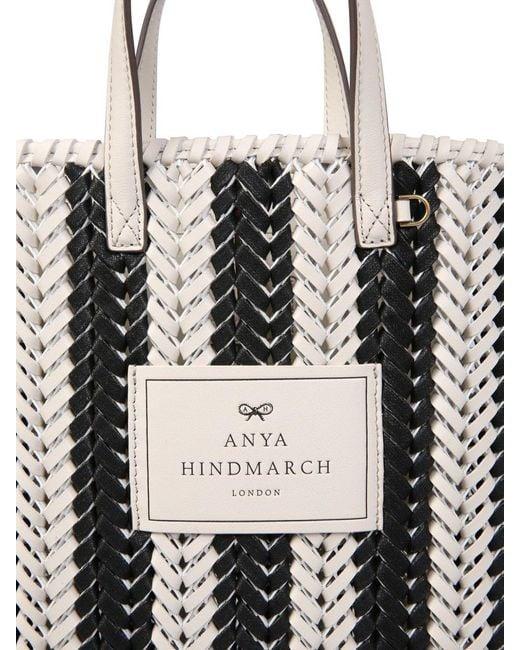 "Anya Hindmarch Black Small ""the Neeson N / S"" Tote Bag"