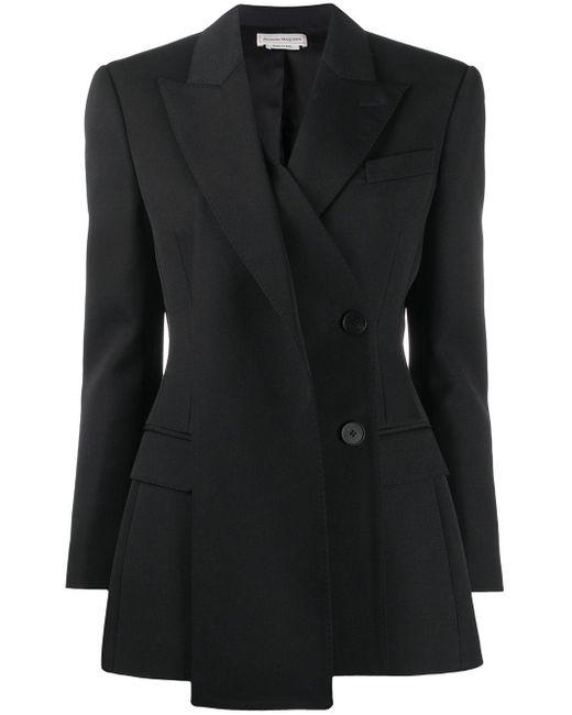 Alexander McQueen Jackets Black