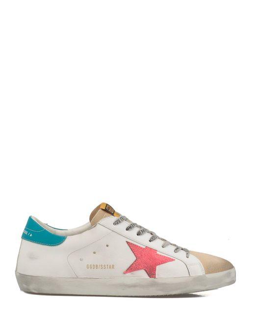 Golden Goose Deluxe Brand Multicolor Sneakers White for men