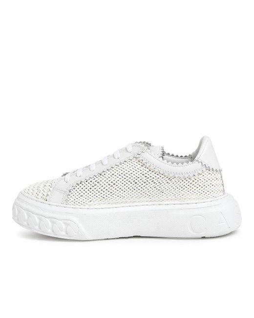 Casadei White Hanoi Sneakers