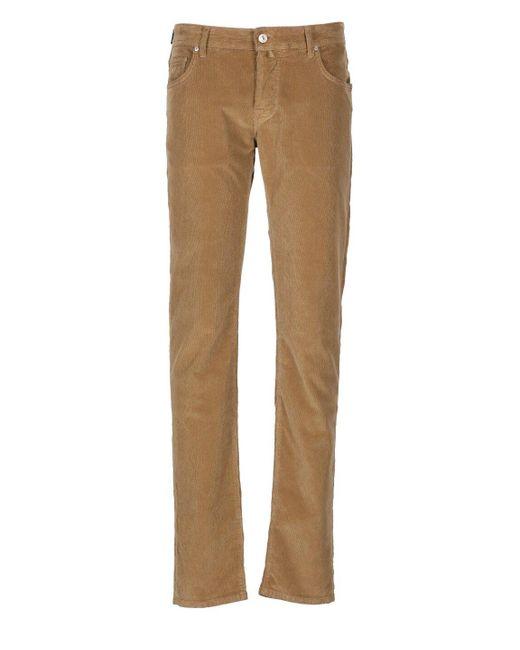 Jacob Cohen Multicolor Trousers for men