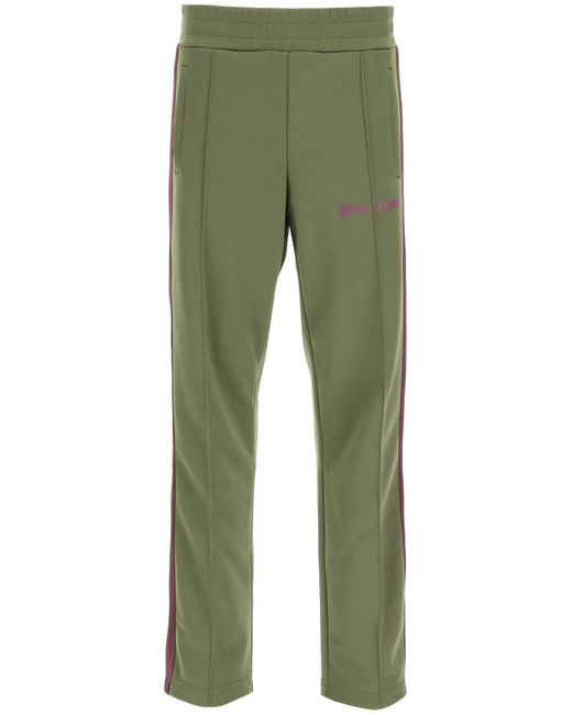 Palm Angels Green Classic jogging Trousers for men