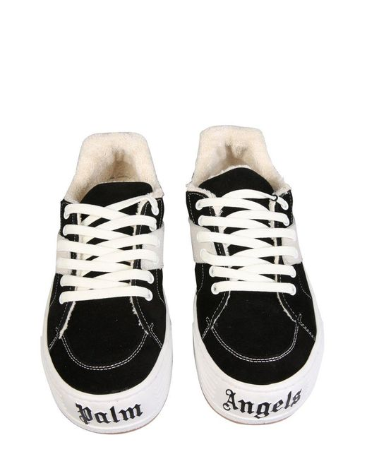 """Palm Angels Black """"snow"""" Low Top Sneakers for men"""