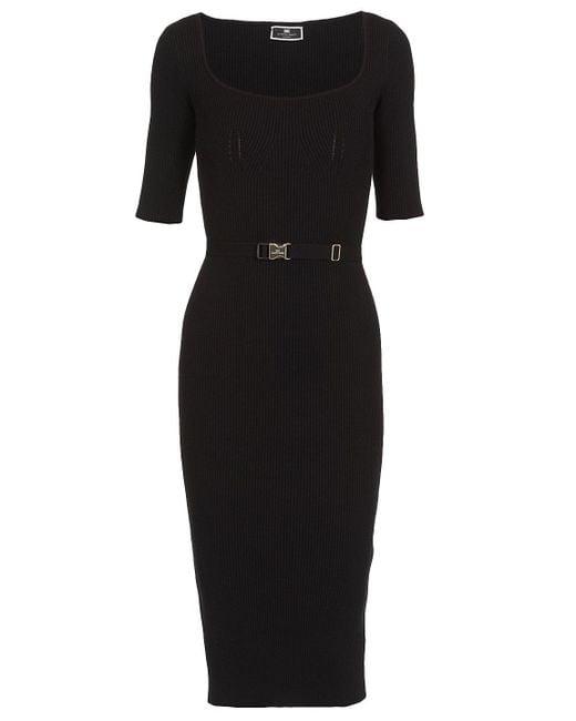 Elisabetta Franchi Dresses Black