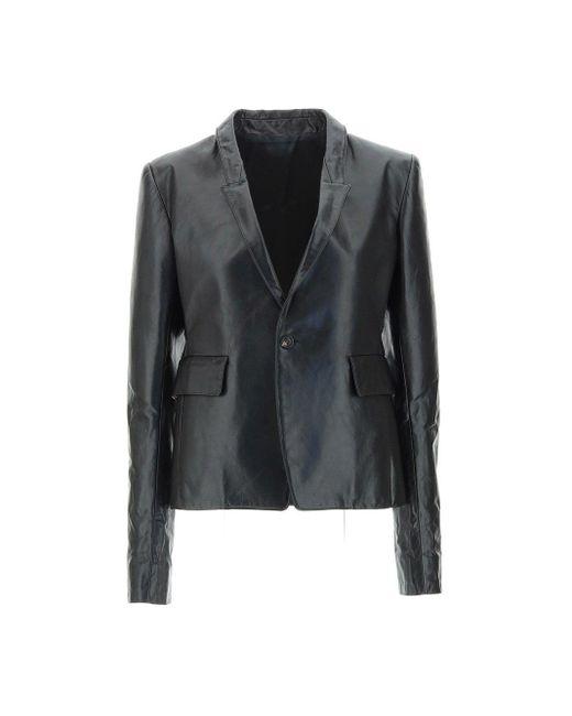 Rick Owens Black Jackets