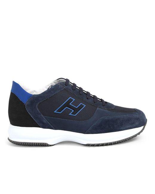 Sneaker Inter.h Flock Blu