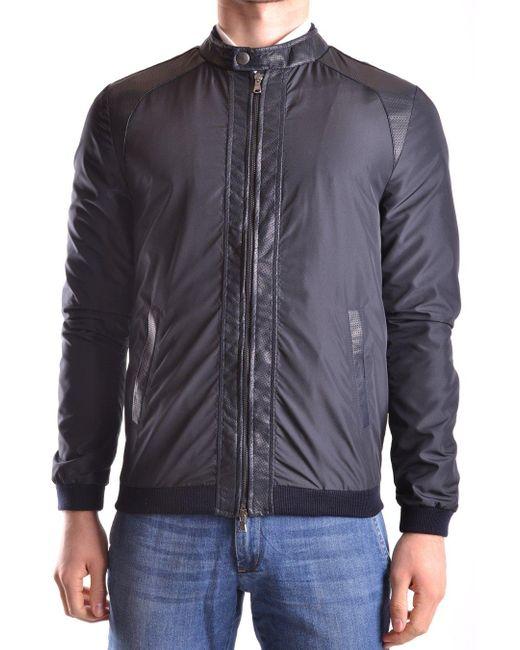 Daniele Alessandrini Multicolor Grey Jackets for men