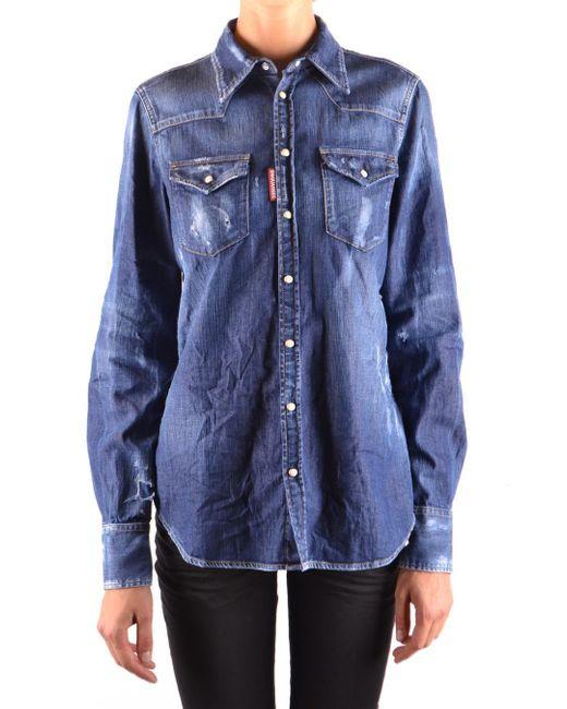 DSquared² Blue Shirt