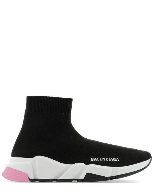 Balenciaga Black Speed 2.0 Lace-up Sneakers