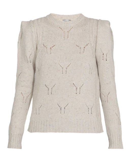 Marella Multicolor Sweaters Natural
