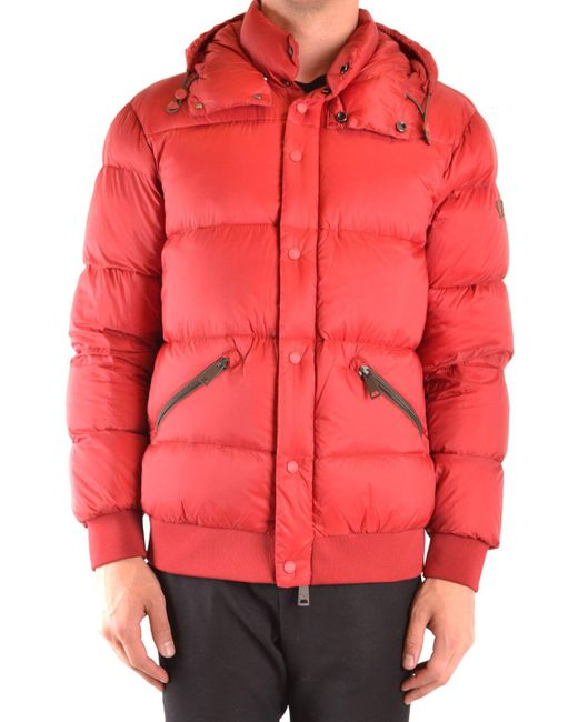 Armani Jeans Red Blouson for men