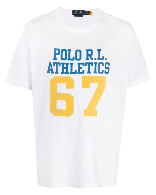 Ralph Lauren T-shirts And Polos White for men