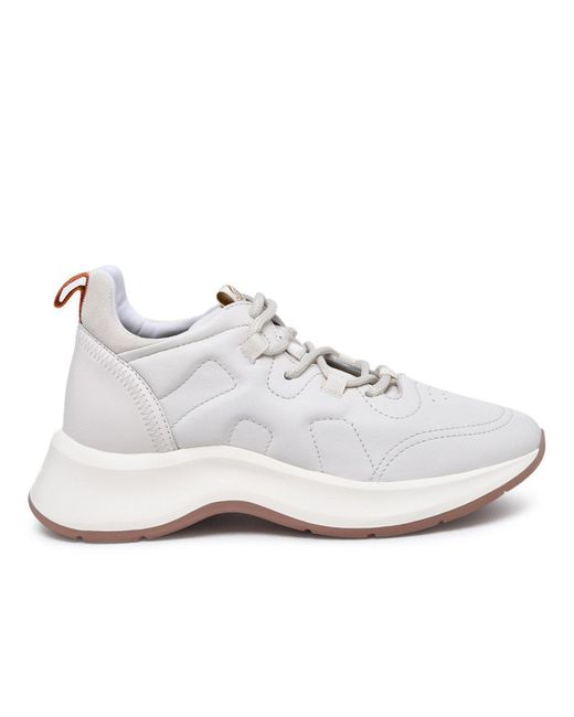 Hogan Sneaker H585 In Pelle Bianca in White - Lyst