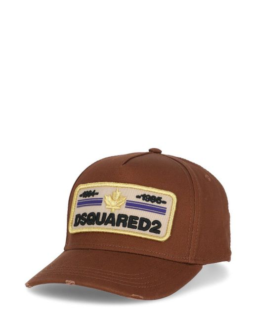 DSquared² Hats Brown for men