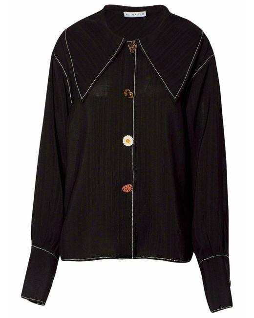 Rejina Pyo Black Elliot Shirt