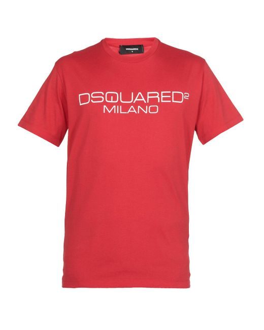 DSquared² T-shirts And Polos Red for men