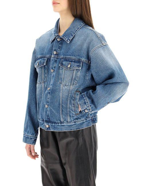 MM6 by Maison Martin Margiela Blue Vintage Denim Jacket