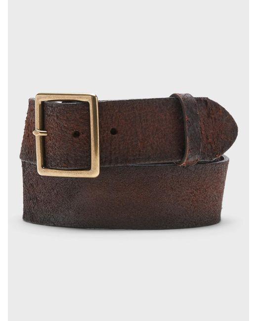 Banana Republic Brown Rugged Leather Belt for men