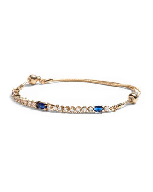 Banana Republic Blue Jeweled Slider Bracelets