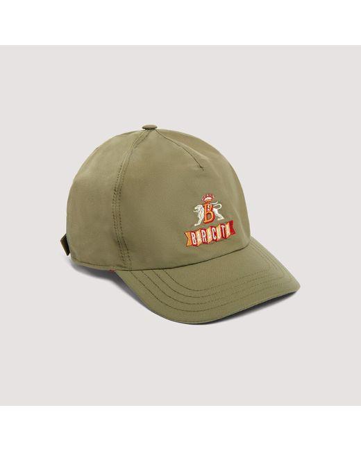 Baracuta Green Baseball Hat Army for men