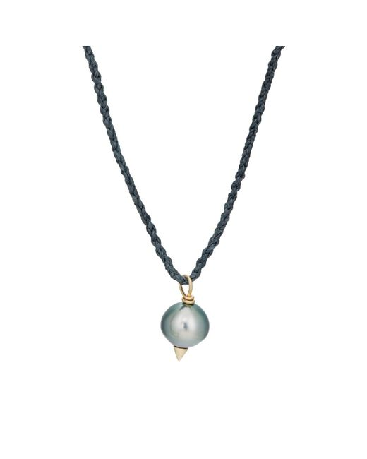 Feathered Soul - Metallic #tahitian5 Pendant Necklace - Lyst