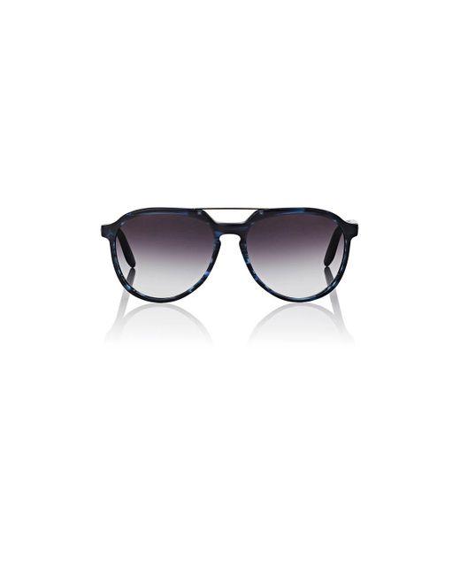 Barton Perreira   Blue Bulger Sunglasses   Lyst