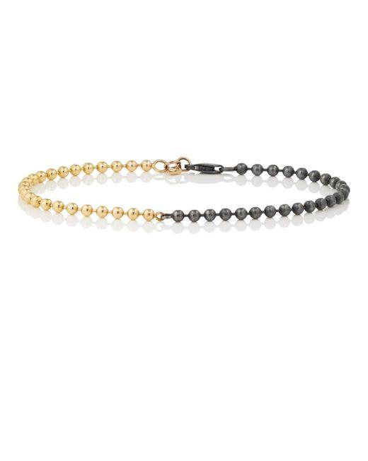 Loren Stewart - Metallic Yellow Gold & Sterling Silver Bracelet - Lyst