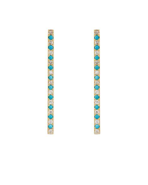 Jennifer Meyer | Blue Stick Stud Earrings | Lyst