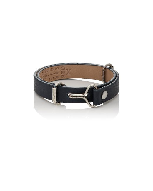 Giles & Brother - Metallic visor Cuff Bracelet - Lyst