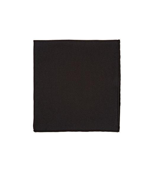 Ferragamo | Black Silk Faille Pocket Square for Men | Lyst