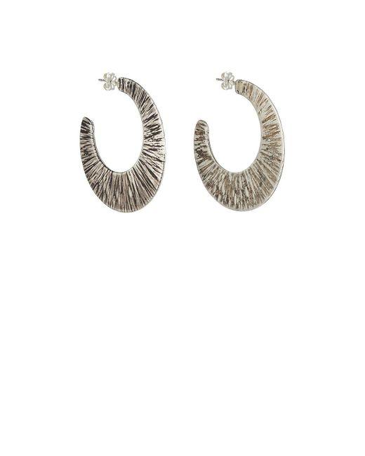 Simon Miller - Multicolor Ray Hoop Earrings - Lyst