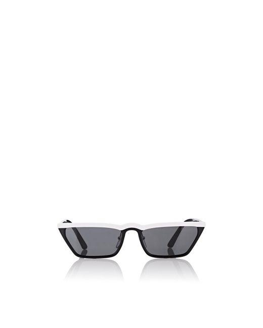 Prada - White Ultravox Sunglasses - Lyst
