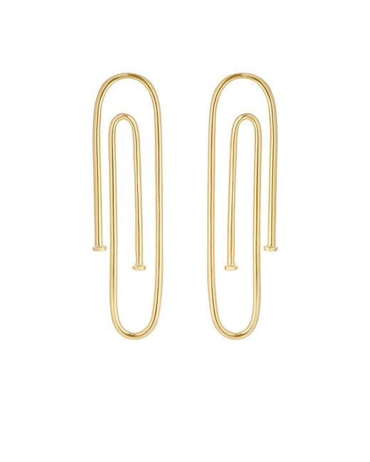 Jennifer Fisher | Metallic Long Pipe Earrings | Lyst