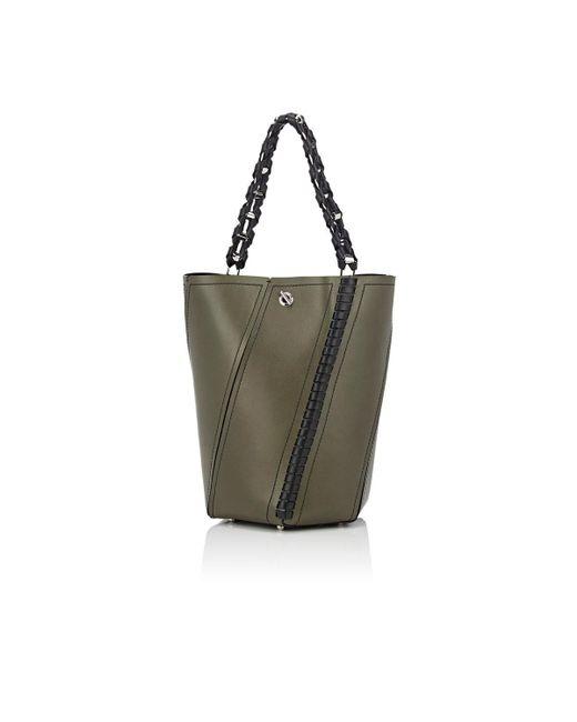 Proenza Schouler | Green Hex Medium Bucket Bag | Lyst