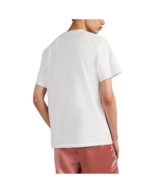 2f749dd8 Gucci Blade Cotton T-shirt in White for Men - Save 14% - Lyst