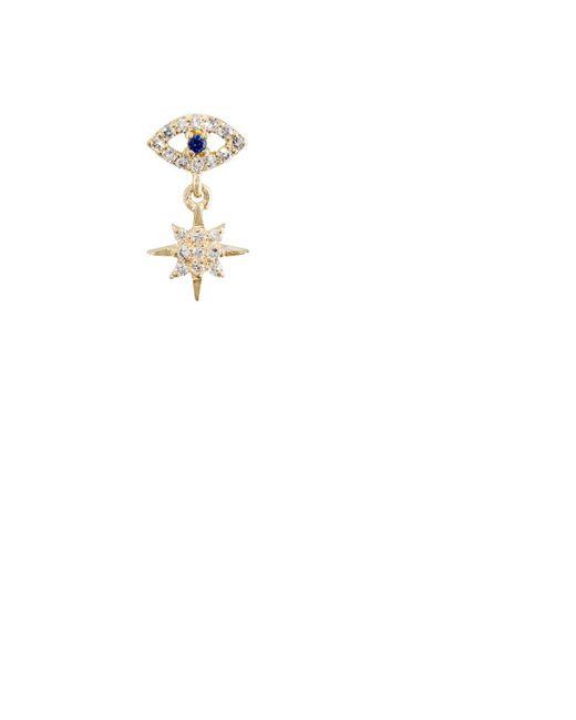 Ileana Makri | White Evil Eye & Star Double | Lyst