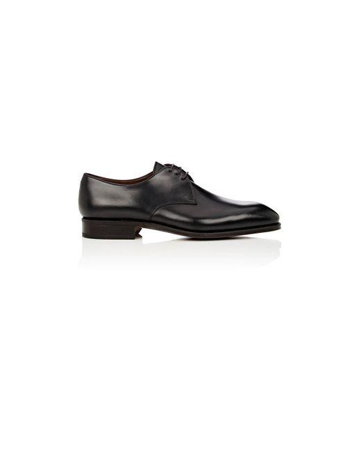 Carmina Black Leather Bluchers for men