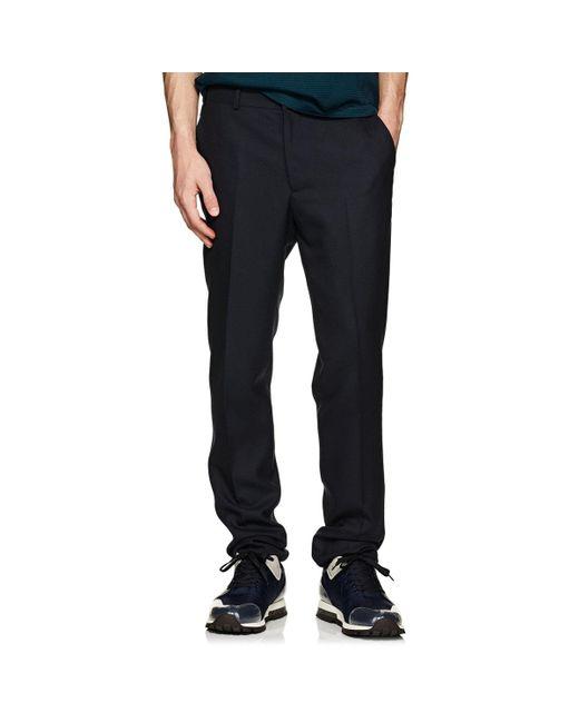 Rag & Bone - Blue Razor Wool Trousers for Men - Lyst