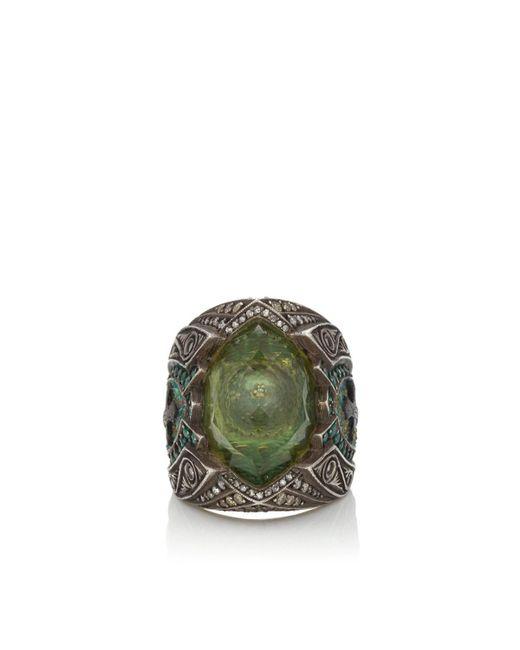 Sevan Biçakci - Green Citrine Intaglio Ring - Lyst