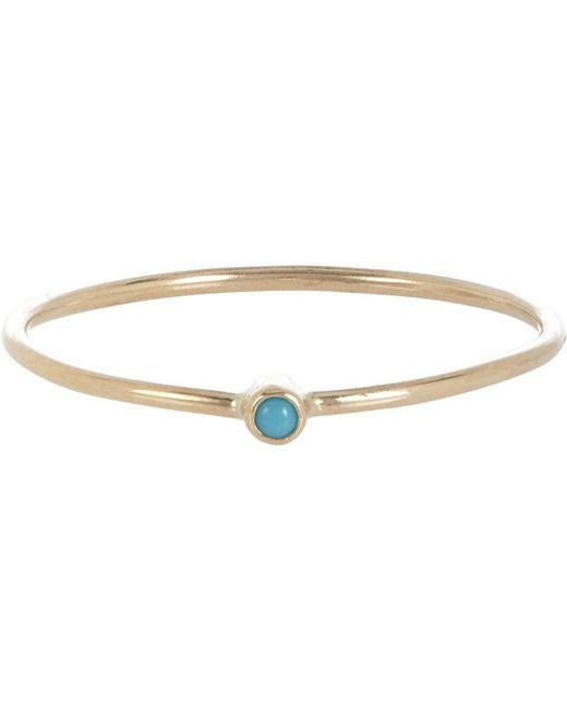 Jennifer Meyer | Multicolor Gemstone Thin Ring | Lyst